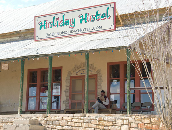 Welcome To The Bend Holiday Hotel In Terlingua Texas